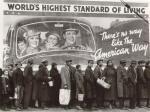 Bread Line, Chicago, WPA photo